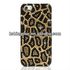 for iphone 5 bling leopard case