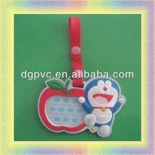 soft pvc national flag luggage tag ,plastic pull luggage tag, custom aluminum luggage tag