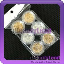 Caviar Nail art beads mixed color mini beads nail decoration