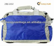 2015 Royal blue fashion traveling bag