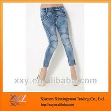 Fashion Cotton Ladies Short Pants Waisted 2012