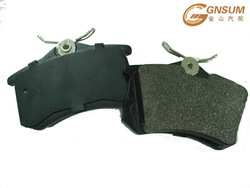 high quality semi-metallic brake pads for ATV motorcycles