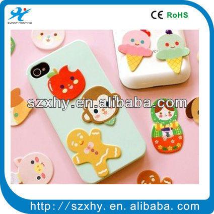 cute sticker mobile screen cleaner
