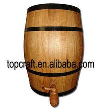 Wooden Rain Storage Barrel 225L