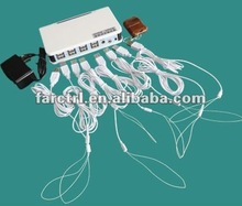 8-way USB port open store glasses alarm tag