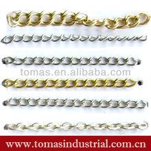 Fashion item colorful designer metal belt jeans chain