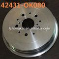 fuerte y resistencia al desgaste del coche de rotor de equilibrio de la máquina de freno de disco y tambor
