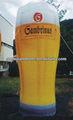 anúncio inflável balão de cerveja na venda f7005