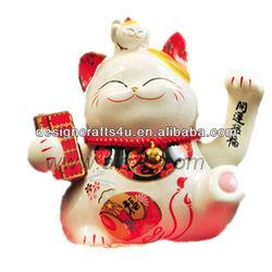 high quality maneki neko for gifts and decoration