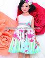 vêtements de fille de fleur 2013 nouvelles usines en chine