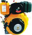 Pequeña potencia del motor diesel