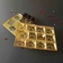 Rectangular cupcake tray,golden tray divider