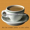 Halal creme de leite em pó para o café 25KGS pacote na China