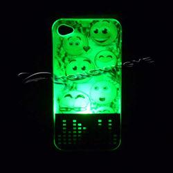 2013,3d melt hard case for iphone 4,3d led case for iphone,custom logo