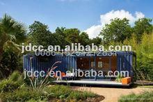four side open prefab house