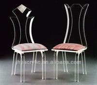 modern acrylic dining chair