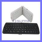 For iPad 2 Mini Wireless Foldable Bluetooth Silicone Keyboard