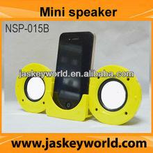 Mini Folding Dock Station Stereo Speaker