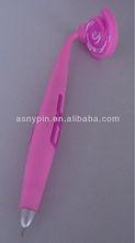pink soft pvc magnt pen with custom logo