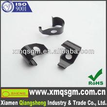 black zinc plated steel fastener