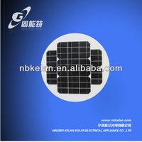 40W Round Monocrystalline Silicon Solar panel, mini PV panel solar cell 5w 10w 20w 40w