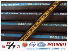 THICK COVER-High pressure,single steel braid reinforced hydraulic hose SAE 100R1