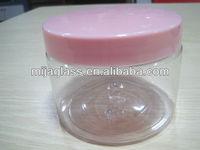 Cosmetics glass jar 50g skin care glass cosmetic plastic jar seal lid in guangzhou China