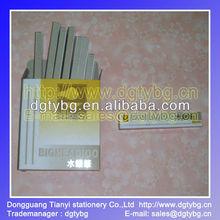 Silver color 100pcs/box, Metal pipe Silver refill pen-33