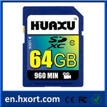 64GB SD card SDXC flash card video camera memory card