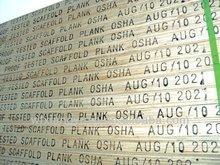 OSHA PRINTET WBP GLUE PINE LVL SCAFFOLD PLANK