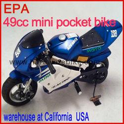 49cc mini pocket bike EPA warehouse at California (HDGS-801)