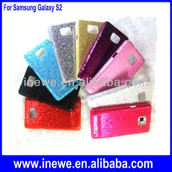 For samsung galaxy s2 glitter hard case
