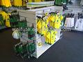 H- góndola de madera estándar merchandiser slatwall