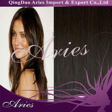 Long Straight dark color peruvian hair