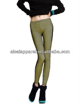 Wholesale 2013 fashion ladies double cloth patched mesh leggings sex photo