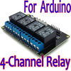 4-Channel 5V Relay Module for Arduino 4-Channel Relay PIC ARM AVR DSP TTL
