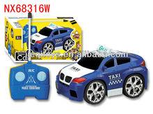 4 channel cartoon rc car toy taxi