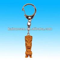 Hawaiian Tiki polyresin key chain