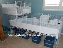 Plastic PP Coroplast Cage