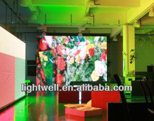 Curved P6/P10 Indoor Full Color LED Display Screen For Video, CE, FCC, RoHs, ETL,UL Verified