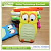 Lovely 3D Birds Shaped Owl Silicon Soft Case for iPhone 4 4s
