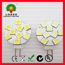 LED G4 spot lights OEM G4 9SMD 5050 spot Auto LED lighting 12VDC