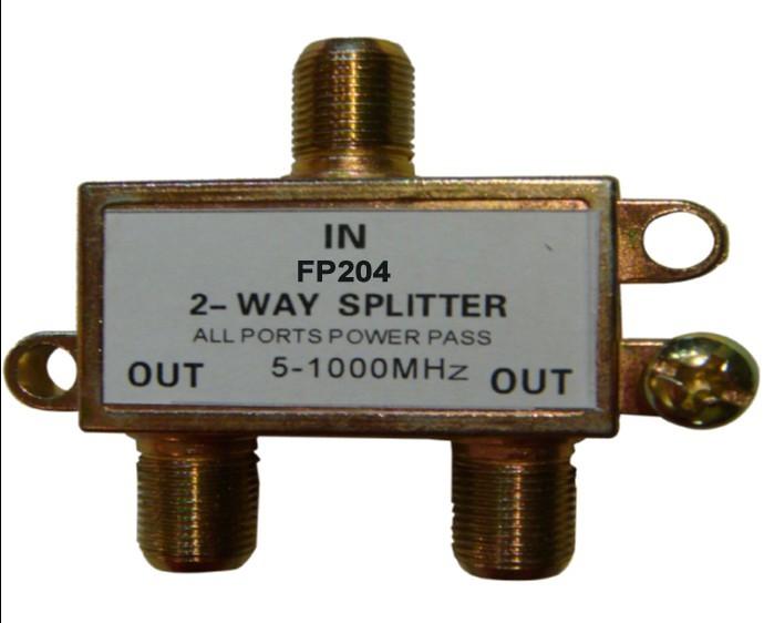 How Cable Splitters Work : Catv rf splitter way fp view