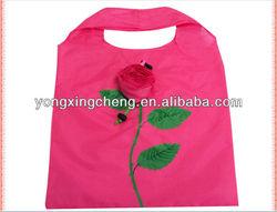 foldable shopping rose bag
