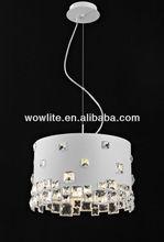 2012 Sales leader crystal pendant lamp D1402B-5WH