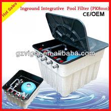 16m3/h embeded filter gravel sand(vigor company)