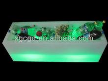 illuminated furniture/ plastic big ice bucket /flower spot