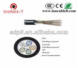 aerial/tube 24 core outdoor fiber optic cable GYTA