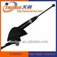 cheap hidden car antenna with fiber mast for universal type am fm radio antennas TLD2542(OEM manufactory)