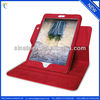 Special pattern for ipad mini stand leather case with 360 degree rotating pu leather case